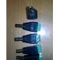 5st DC hane jack till 2 ledare skruva fast anslutning för LED-ljus controller