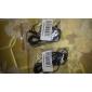 In-Ear-hörlurar för iPod/iPod/phone/MP3 (Svart)