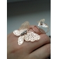 Women's Double Butterfly-Shaped Rings(Random Color)
