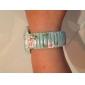Wanbao dammode blomtryck armband klocka