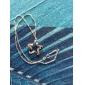 rena kvinnor 925 silverpläterade hög kvalitet handarbete elegant hängsmycke inkluderar halsband