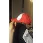 Hatt/Mössa Inspirerad av Pocket Little Monster Ash Ketchum Animé Cosplay Accessoarer Holk Hatt Röd Man Kvinna