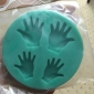 Hand Shape Silicone Mould Cake Decorating Bakning Tool