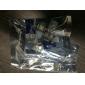 t10 0.18wx5 5-SMD 5050 ha portato luce cabina di lettura, dc 12v/pair (blu)