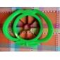outil pomme plastique en forme de coupe de trancheuse de fruits facile (couleurs aléatoires)
