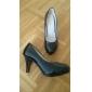 Damă Imitație de Piele Primăvară Vară Toamnă Birou & Carieră Rochie Toc Stiletto Negru Alb Roșu Bej 7.5 - 9.5 cm