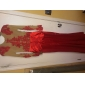 Mermaid / trompeta bijuterie gât matura / perie tren dantelă rochie seara de ts couture®