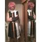 Inspirerad av Fairy Tail Natsu Dragneel Animé Cosplay Kostymer/Dräkter cosplay Suits Lappverk Svart Kappa / Byxor / Scarf / Bälte