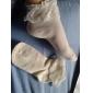ren färg bomull prinsessa lolita strumpor med spets (6 färger)