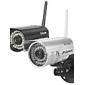Sricam® trådlös och vattentät IR IP-kamera för utomhusbruk med gratis P2P