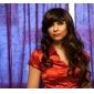 Perruques de Cosplay Fairy Tail Cana Alberona Marron Moyen Anime Perruques de Cosplay 65 CM Fibre résistante à la chaleur Féminin