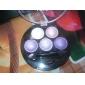 6 Palette Fard à paupières Mat Lueur Matériel Palette Fard à paupières Poudre Ordinaire Maquillage Quotidien Maquillage Smoky-Eye