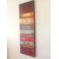 Peint à la main Abstrait Panoramique Verticale,Classique Réalisme Deux Panneaux Peinture à l'huile Hang-peint For Décoration d'intérieur