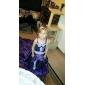 Ball Gown Court Train Flower Girl Dress - Satin/Taffeta Sleeveless