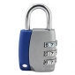 Al Alloy 2-Color 3-digit Combination Padlock (Random Color)