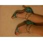 Chaussures de danseNon Personnalisables-Talon Bobine-Satin-Latine Spectacle Salsa