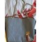 GMN kvinna kanfas Stripe Mode ena axeln hänger (Skärmfärg)