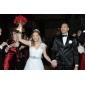 Faixa Cetim Faixas para Mulheres Casamento/Festa/Noite Cristal