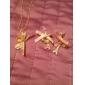 Pentru femei Coliere cu Pandativ Bowknot Shape Turn Diamante Artificiale Aliaj La modă bijuterii de lux Personalizat Bijuterii Pentru