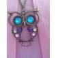 Women's Vintage Owl Pendant Necklace