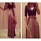 VICONE Women's ½ Length Sleeve Sexy Bodycon Ol Slim Dresses