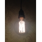 40w e27 rétro industrie de style globe ampoule à incandescence transparent