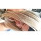 nouvelle mode 3/4 perruque courte ligne droite avec la moitié perruque synthétique de bandeau femmes