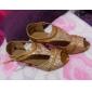 Chaussures de danse(Or) -Personnalisables-Talon Personnalisé-Paillette-Latine Salon