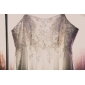 POCAHONTAS - Robe de Mariée Mousseline (Taille grande)