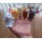 Leksaker Fingerdocka Leksaker Tecknat Originella leksaker För pojkar För flickor Plysh