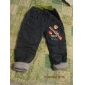 Boy's Fashion Cartoon Printed Cotton Jeans