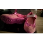 Bekväma rosa sneakers till barn med kardborrband (begränsat lager - säljs på en först till kvarn-basis)