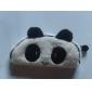 härlig svartvit panda tyg universal plånbok (1 st)