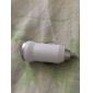 Mini chargeur de voiture USB - blanc pour iPhone 6 iphone 6 plus