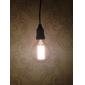 40w e27 retro industri stil klot transparent glödlampa