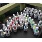 50st polska UV gelen färg pops visa ringen för nagel konst färgkarta display