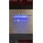 Pommeaux de Douche Sprinkle®  ,  Moderne  with  Fileté 1 poignée 1 trou  ,  Fonctionnalité  for Lumineux LED Jet pluie