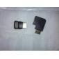 HDMI-hane-till-hona-90-graders anslutare/förlängningsskarv (V1.4)