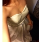 A-line/Princess Plus Sizes Wedding Dress - Ivory Floor-length Sweetheart Satin