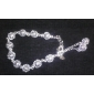 Aimei la mode en argent 925 des femmes découpé bracelet