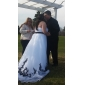 Ball Gown Plus Sizes Wedding Dress - Ivory Court Train Sweetheart Organza