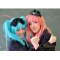VOCALOID Hatsune Miku 2 ponytails คอสเพลย์วิกผม