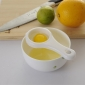 äggula och äggvita separator