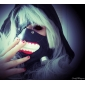 Masque Inspiré par Tokyo Ghoul Cosplay Anime Accessoires de Cosplay Masque Noir Cuir Masculin