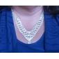 Elegant Marvelous Ladies Necklace and Earrings Jewelry Set (45 cm)
