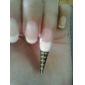 500st gyllene hästsko mönster nagel konst Forms För akryl och UV Gel Tips
