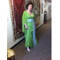 PORTSMOUTH - Vestido de Festa em Chifon e Cetim Elástico
