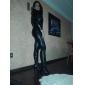 Des femmes sexy Combinaison Combinaison en cuir PU Souhaitez-vous Halloween Costume (1Pieces)