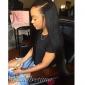 3 buntar kambodjanska virgin hår rakt med stängningen obearbetat människohår väva med fri / mellan nedläggningar / 3 del spets