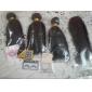 Hårförlängning av äkta hår Brasilianskt hår 350 8 12 14 16 18 20 22 24 26 28 30 Människohår förlängningar